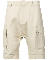 Balmain - Dropped Crotch Cargo Shorts - Lyst
