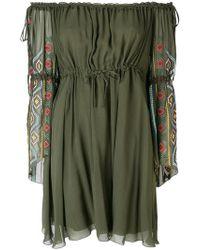 Dondup - Off-the-shoulder Dress - Lyst