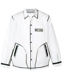 KTZ - Translucent Coach Jacket - Lyst