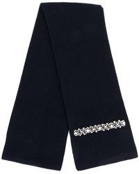 N°21 - Embellished Knit Scarf - Lyst