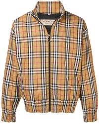 Burberry - House Check Jacket - Lyst