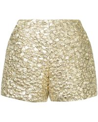 glitter pleated culottes - Metallic Bambah CE9EU