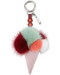 Fendi - Ice Cone Bag Charm - Lyst