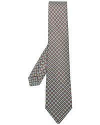 Kiton - Geometric Pattern Tie - Lyst