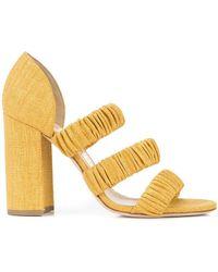Chloe Gosselin - Elasticated Strap Sandals - Lyst