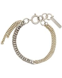 Justine Clenquet - Two-tone Chain Bracelet - Lyst