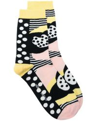 Henrik Vibskov - Heartbeat Printed Socks - Lyst