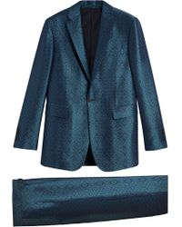 Burberry - Soho-fit Geometric Suit - Lyst