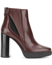 Tod's - Ankle Length Boots - Lyst