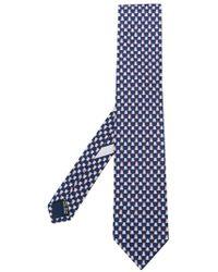 Ferragamo - Frog Print Tie - Lyst