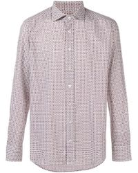 Etro - Paisley Print Fitted Shirt - Lyst
