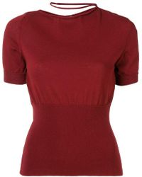 Jacquemus - Collar Loop Sweater - Lyst