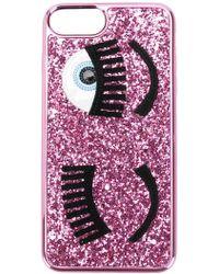 Chiara Ferragni - Iphone S6/s7/s8 Plus Wink Phone Case - Lyst