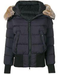 Peuterey - Fur Trimmed Puffer Jacket - Lyst
