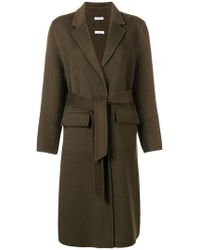 P.A.R.O.S.H. - Belted Trench Coat - Lyst
