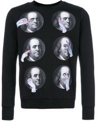 Katya Dobryakova - Franklin Print Sweatshirt - Lyst