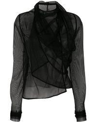 Rick Owens Lilies - Asymmetric Design Jacket - Lyst