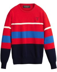 Burberry - Reissued 1980s Striped Jumper - Lyst