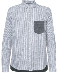 Private Stock - Pinstripe Block Shirt - Lyst