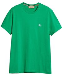 Burberry - Cotton Jersey T-shirt - Lyst