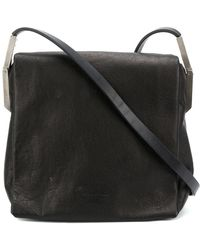 Rick Owens - Foldover Top Shoulder Bag - Lyst