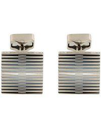 Tateossian - Striped Cufflink - Lyst