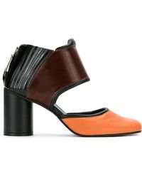 Gloria Lyst Blocked Black Color Shoes In Coelho 7wvqw