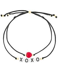 Venessa Arizaga - Hugs And Kisses Bracelet Set - Lyst