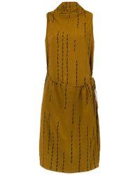 UMA | Raquel Davidowicz - Modern Micro-pleated Dress - Lyst