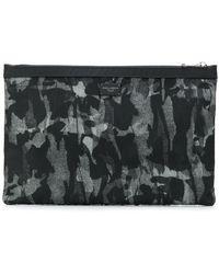 Dolce & Gabbana - Camouflage Print Clutch - Lyst