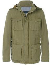 Herno | Hooded Denim Jacket | Lyst