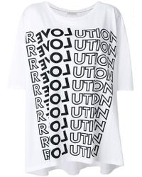 Each x Other - Revolution Print T-shirt - Lyst