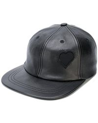 Saint Laurent - Heart Patch Baseball Cap - Lyst