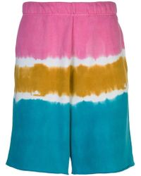 The Elder Statesman - Tie-dye Bermuda Shorts - Lyst