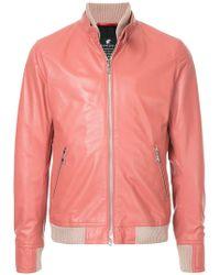 Loveless - Zip-up Biker Jacket - Lyst