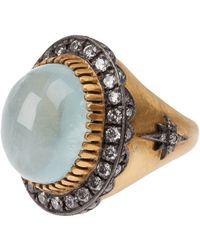 Sara Weinstock - Aquamarine Ring - Lyst