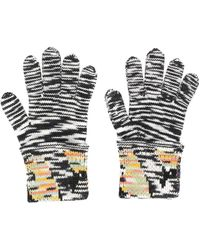 Missoni - Knitted Gloves - Lyst