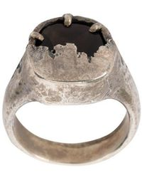Tobias Wistisen - Shield Ring - Lyst