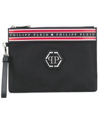 Philipp Plein - Logo Clutch Bag - Lyst