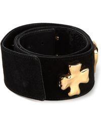 Christian Lacroix - Cross Logo Detail Belt - Lyst