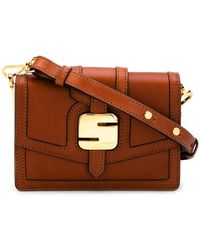 Serapian - Logo Buckled Bag - Lyst