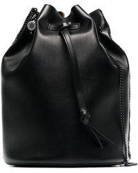 Stella McCartney - Black Falabella Bucket Bag - Lyst