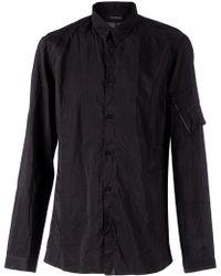 Nicolas Andreas Taralis - - Creased Effect Shirt - Men - Silk/cotton - 39 - Lyst