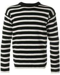 S.N.S Herning - Striped Knitted Sweater - Lyst