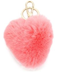 Furla - Heart Shaped Keychain - Lyst