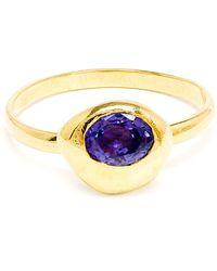 Natasha Collis - Sapphire Nugget Ring - Lyst