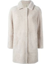 Sprung Freres - Sprung Frères Single Breasted Coat - Lyst