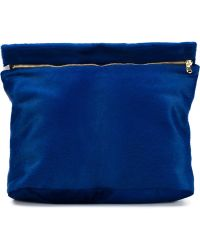 Derek Lam - - Zipped Clutch Bag - Women - Calf Leather/calf Hair - One Size - Lyst