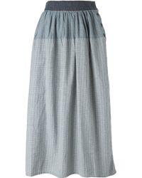 Visvim - Check Skirt - Lyst