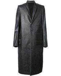 Rick Owens - Manteau à effet ciré - Lyst